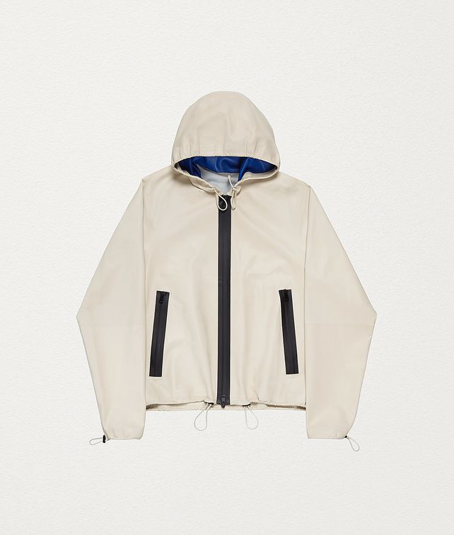 BOTTEGA VENETA ANORAK IN HIDROLOGY CALFSKIN Outerwear and Jacket Woman fp