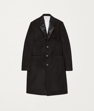 COAT IN BONDED CASHMERE