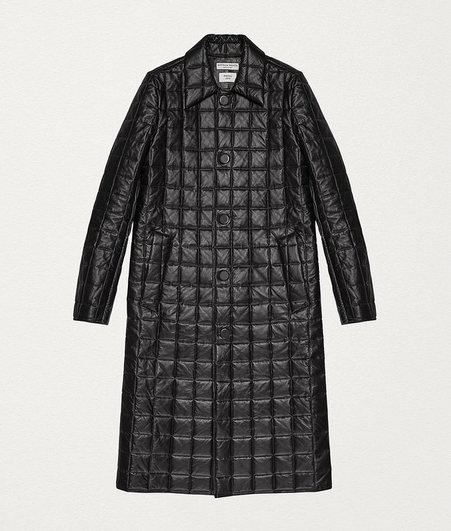 BOTTEGA VENETA COAT IN MATELASSÉ NAPPA Outerwear and Jacket Woman fp