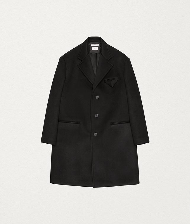 BOTTEGA VENETA COAT IN BONDED CASHMERE Outerwear and Jacket Man fp