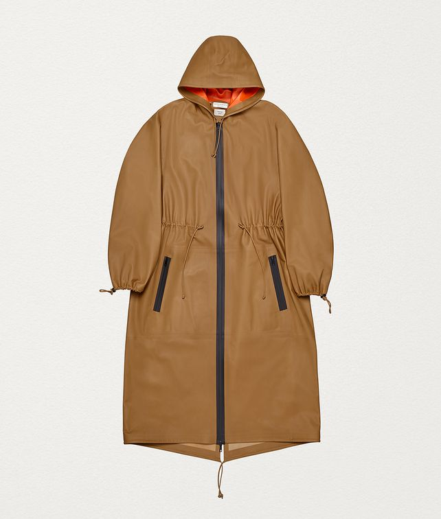 BOTTEGA VENETA ANORAK IN HIDROLOGY CALF Outerwear and Jacket Man fp