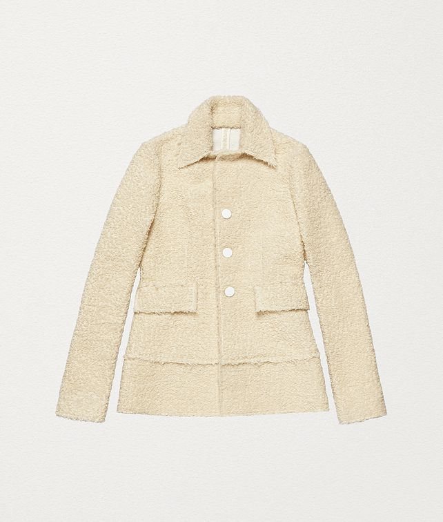 BOTTEGA VENETA JACKET IN BOUCLÉ Outerwear and Jacket Woman fp