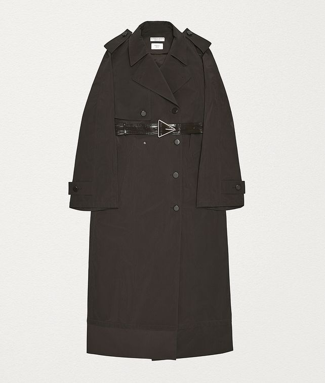 BOTTEGA VENETA TRENCH COAT IN NYLON Outerwear and Jacket Woman fp