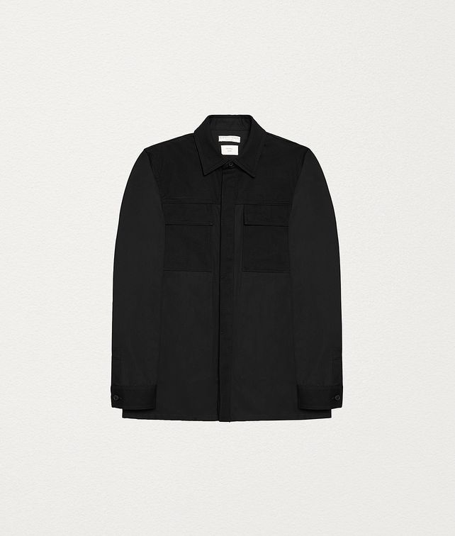 BOTTEGA VENETA SHIRT JACKET IN COTTON Outerwear and Jacket Man fp