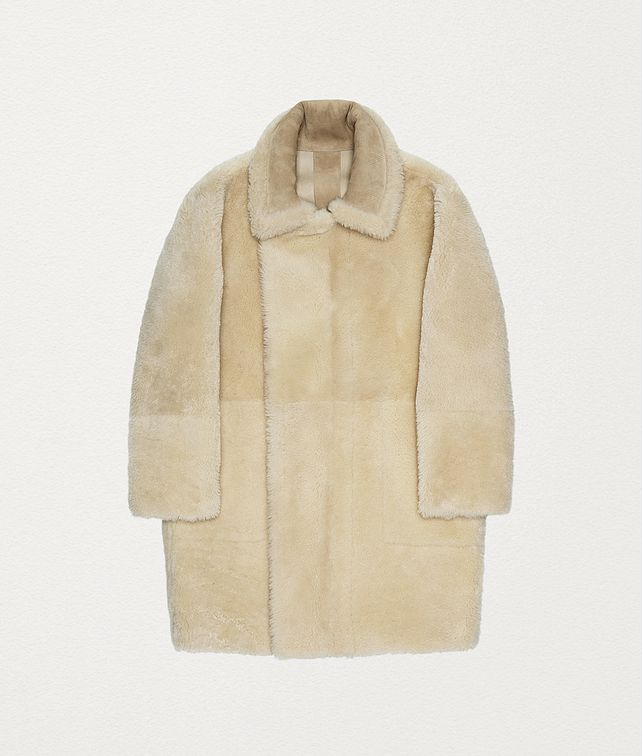 BOTTEGA VENETA COAT IN SHEARLING Outerwear and Jacket Woman fp