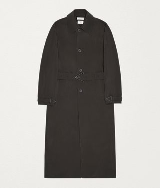 COAT IN MATTE NYLON