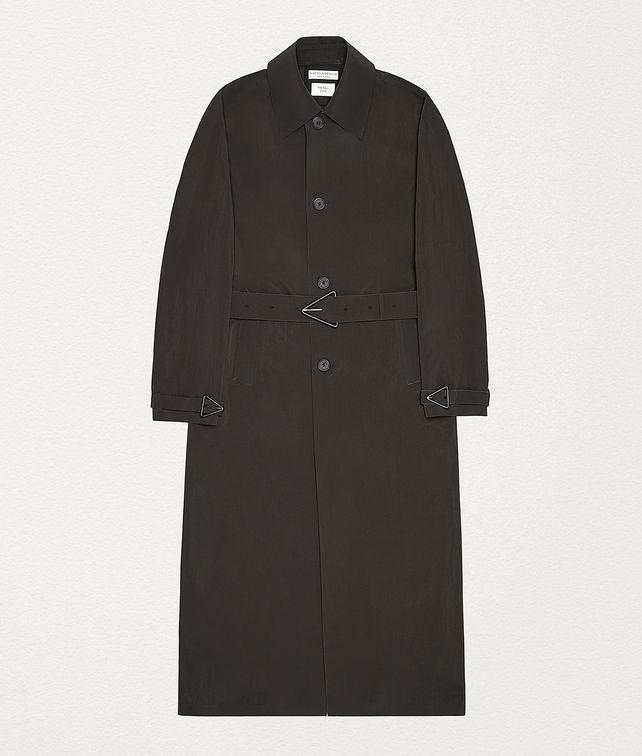 BOTTEGA VENETA COAT IN MATT NYLON Outerwear and Jacket Man fp