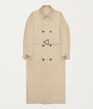 TRENCH COAT IN COTTON GABARDINE