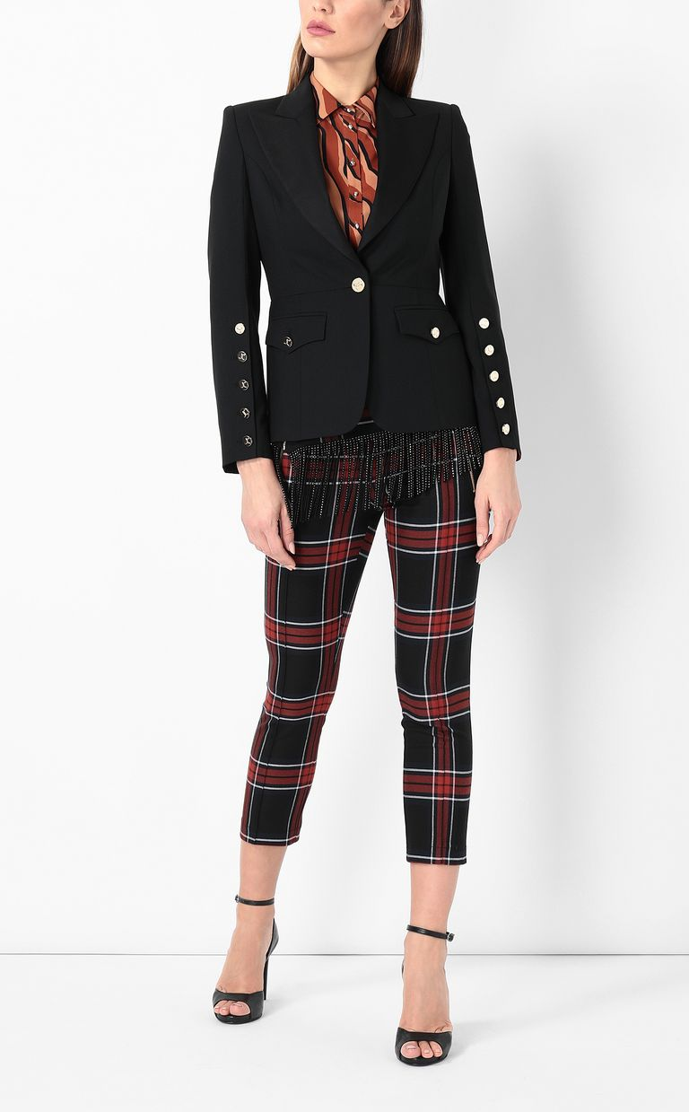 JUST CAVALLI Jacket with big lapels Blazer Woman d
