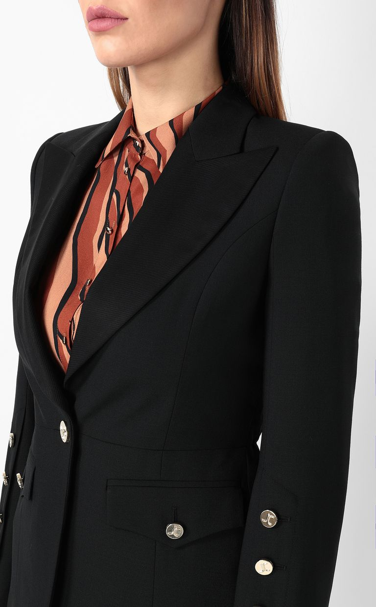 JUST CAVALLI Jacket with big lapels Blazer Woman e
