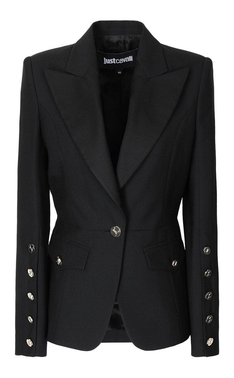 JUST CAVALLI Jacket with big lapels Blazer Woman f