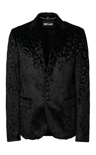 JUST CAVALLI Long sleeve shirt Man Shirt with embroidered tiger f