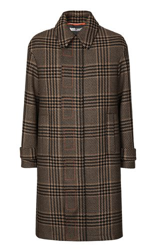 JUST CAVALLI Coat Man Houndstooth-Check Coat f