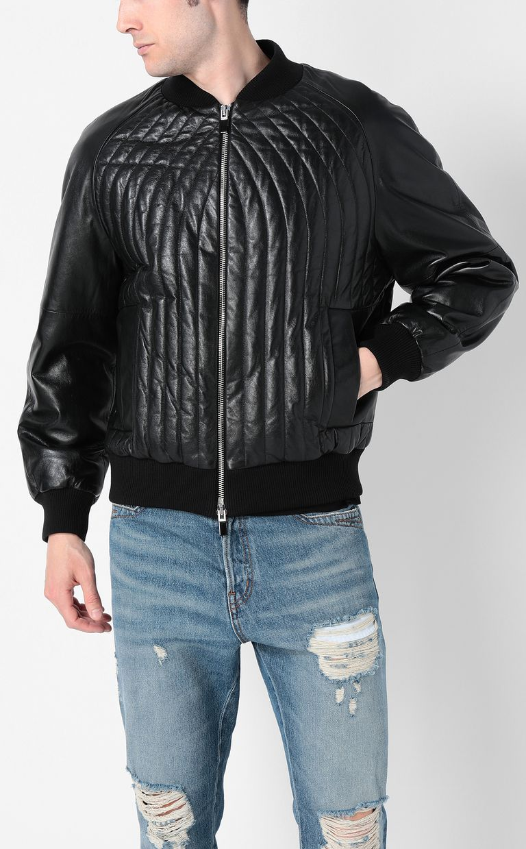 JUST CAVALLI Leather jacket Leather Jacket Man r