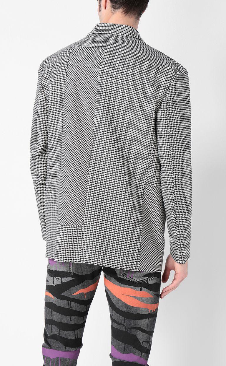JUST CAVALLI Houndstooth-check jacket Blazer Man a