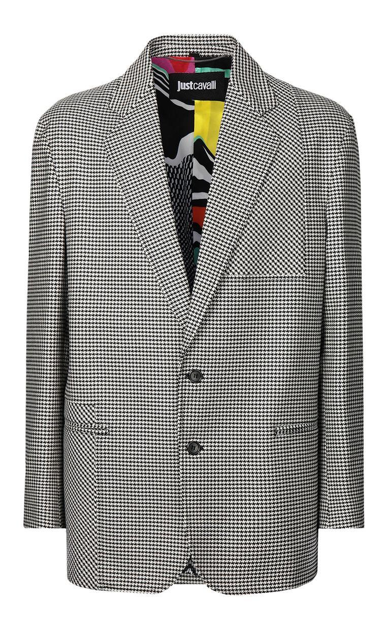 JUST CAVALLI Houndstooth-check jacket Blazer Man f