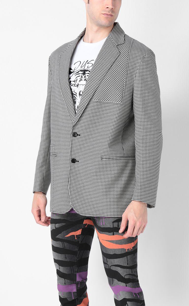 JUST CAVALLI Houndstooth-check jacket Blazer Man r