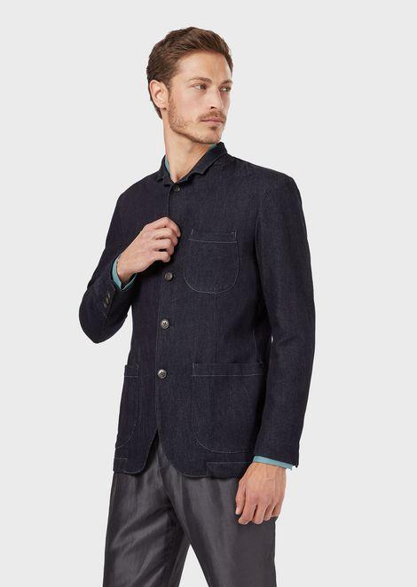 GIORGIO ARMANI Fashion Jacket Man f