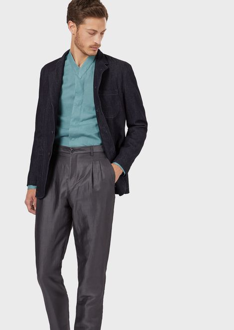 GIORGIO ARMANI Fashion Jacket Man r
