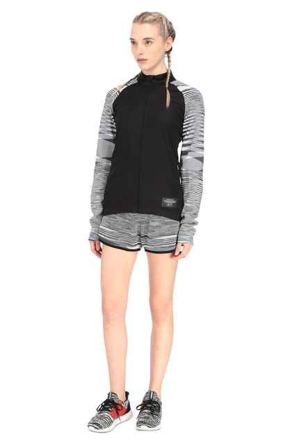 MISSONI ADIDAS X MISSONI SWEATSHIRT Black Woman - Back