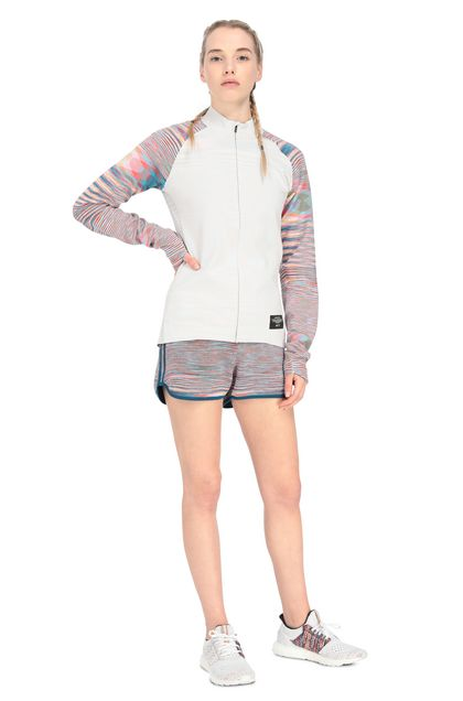 MISSONI ADIDAS X MISSONI SWEATSHIRT White Woman - Back