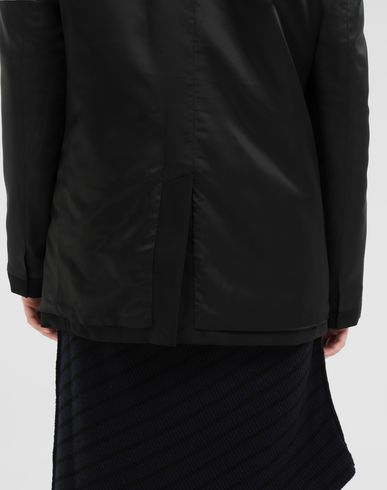 COATS & JACKETS Reversed padded blazer Black