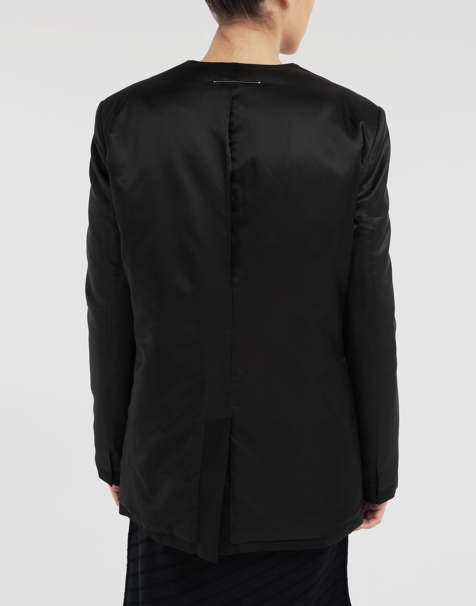 MM6 MAISON MARGIELA Reversed padded blazer Jacket Woman e