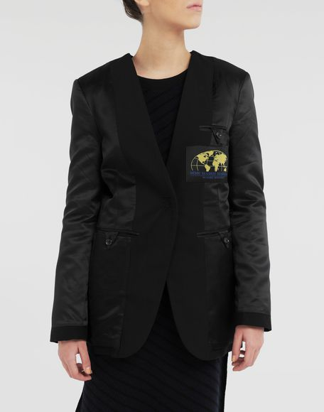 MM6 MAISON MARGIELA Reversed padded blazer Blazer Woman r