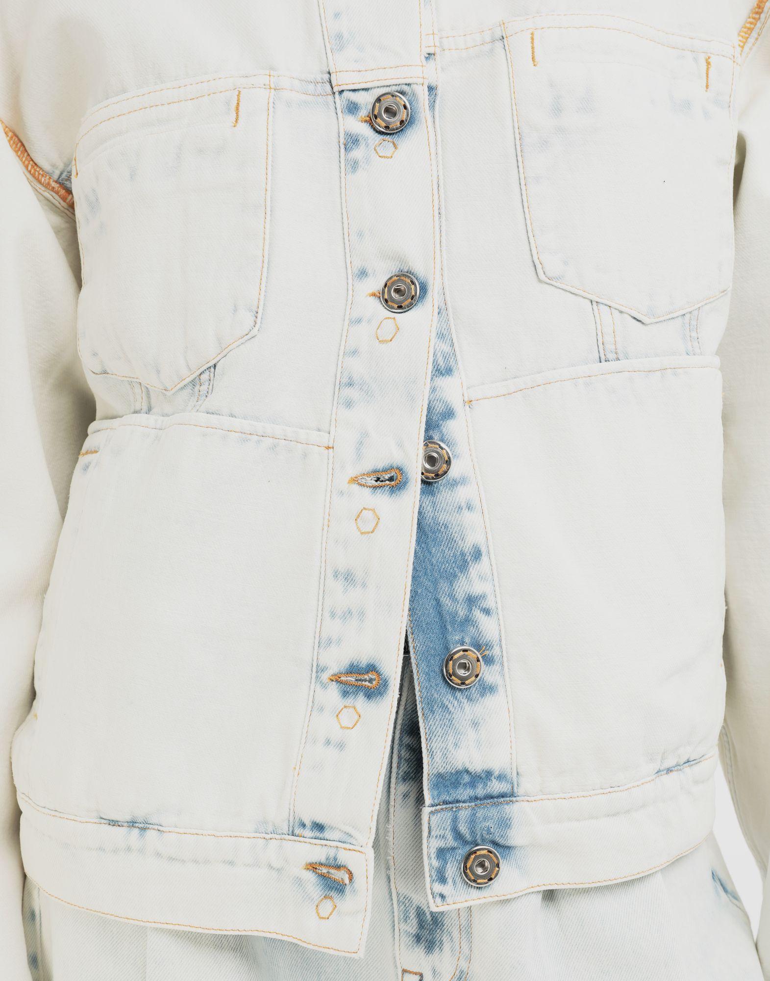 MM6 MAISON MARGIELA Reversed denim jacket Jacket Woman a
