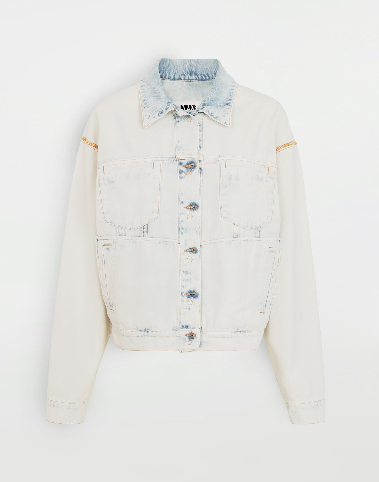 MM6 MAISON MARGIELA Reversed denim jacket Light jacket Woman f