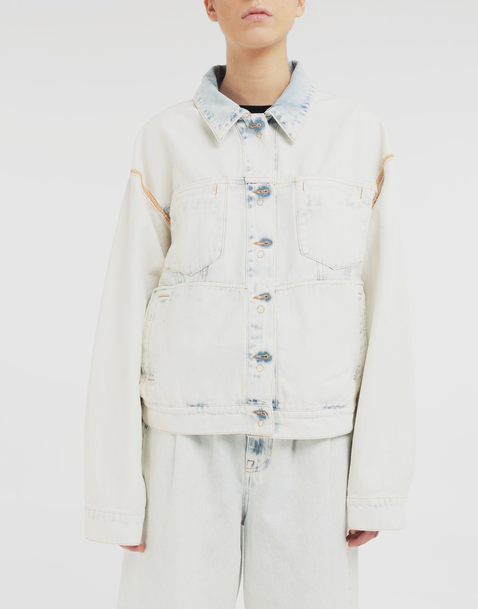 MM6 MAISON MARGIELA Reversed denim jacket Jacket Woman r