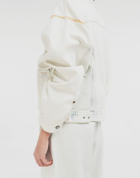 MM6 MAISON MARGIELA Reversed denim jacket Jacket Woman b