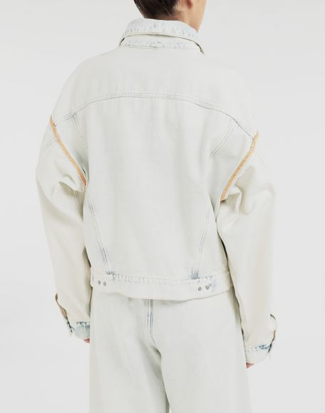 MM6 MAISON MARGIELA Reversed denim jacket Light jacket Woman e
