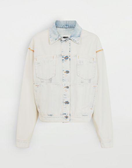 MM6 MAISON MARGIELA Reversed denim jacket Jacket Woman f
