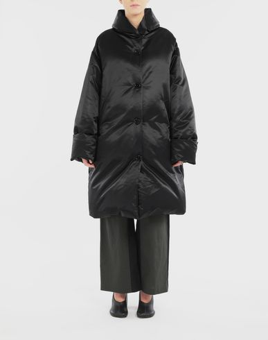 COATS and JACKETS Padded coat Black