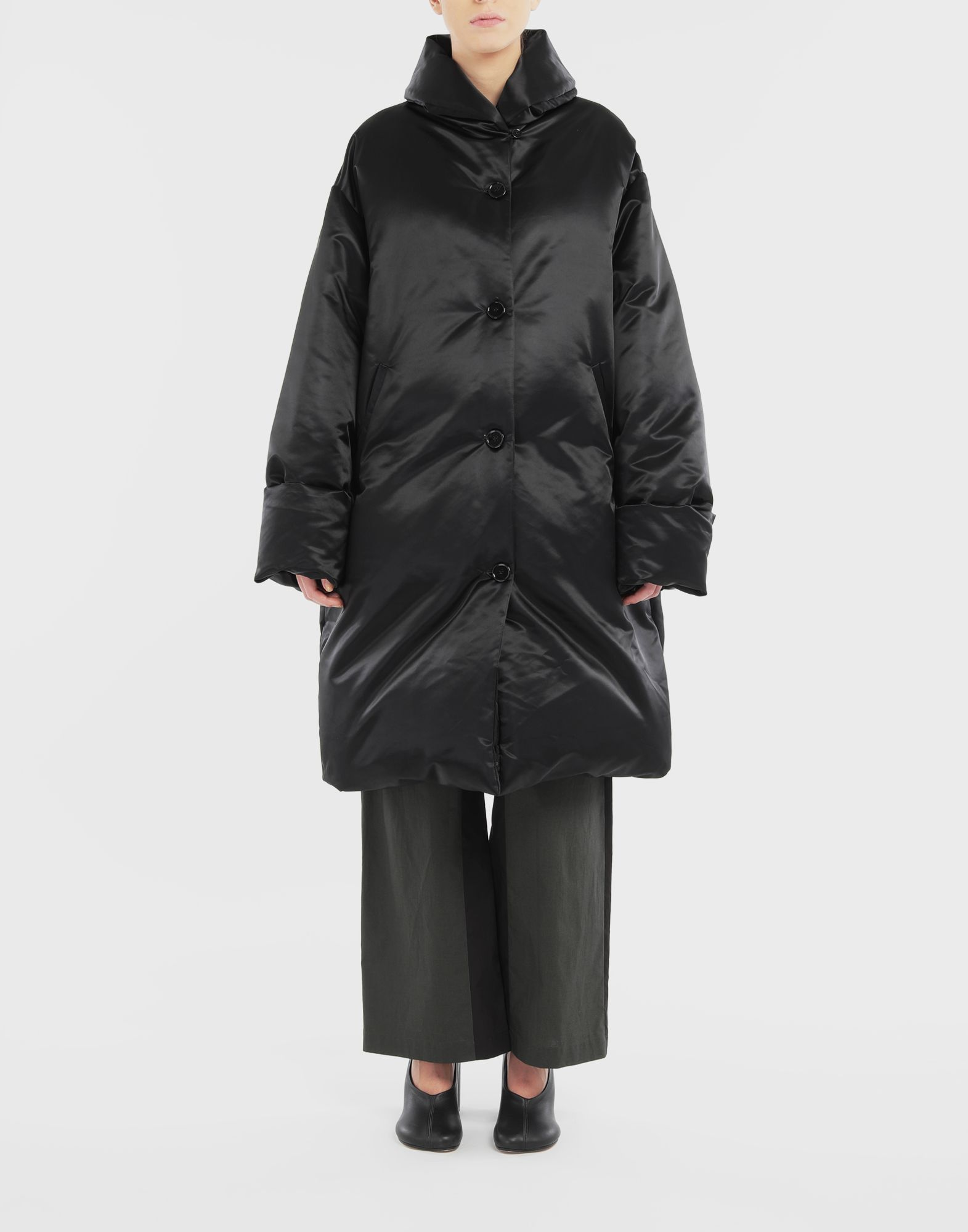 MM6 MAISON MARGIELA Padded coat Coats and Trenches Woman r