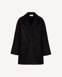 REDValentino Coat Woman SR3CAA80497 0NO a