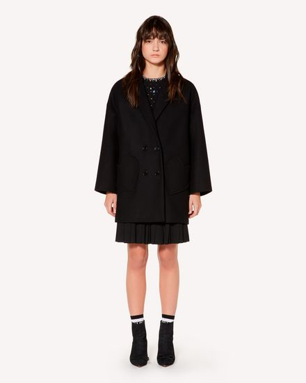 REDValentino Coat Woman SR3CAA80497 0NO f