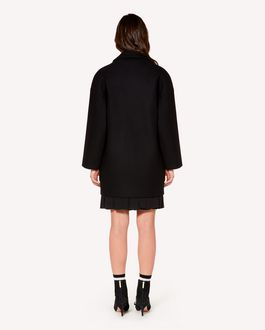 REDValentino Oversized wool and cashmere coat