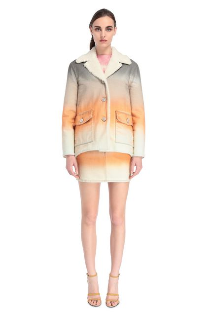 MISSONI Coat Orange Woman - Back
