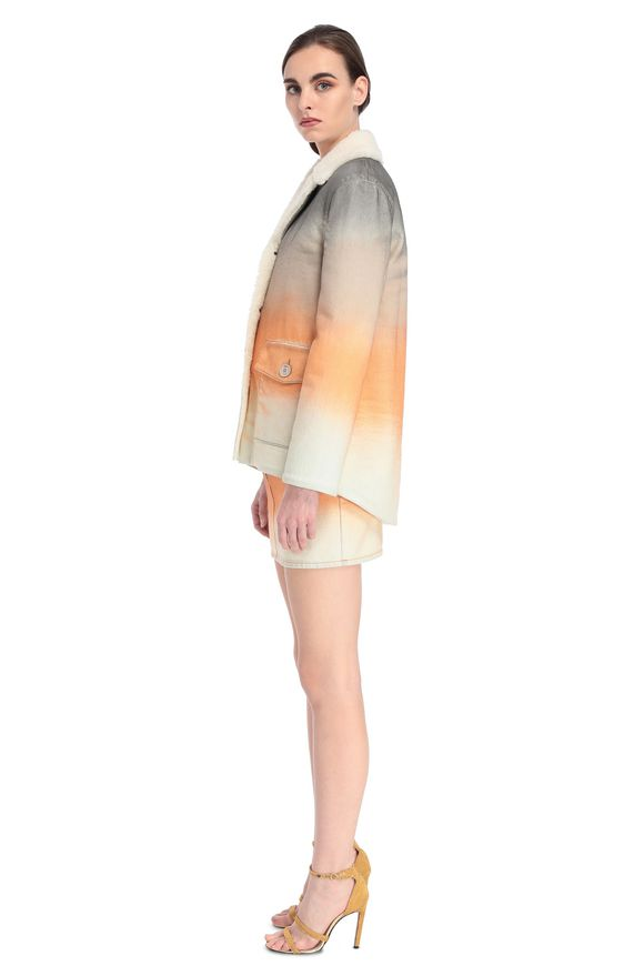 MISSONI Coat Woman, Side view