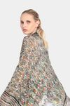 MISSONI Wrap Woman, Rear view