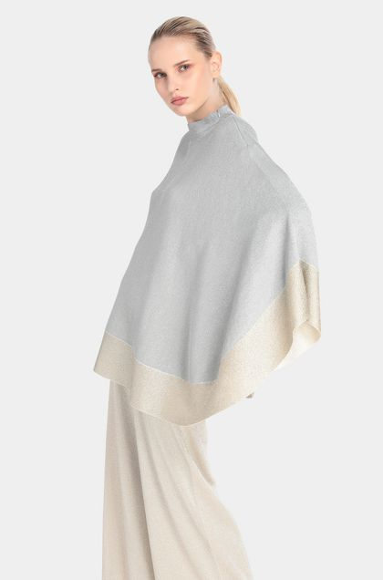 MISSONI Wrap Grey Woman - Front