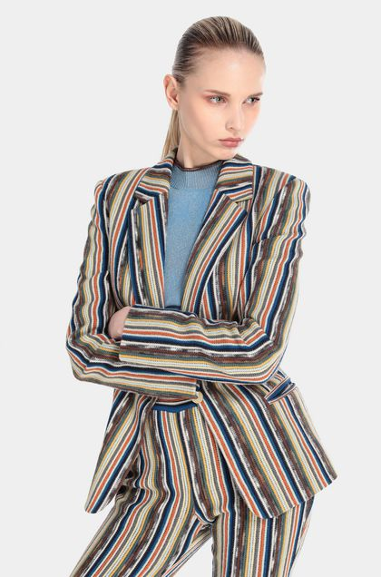 MISSONI Jacket Brown Woman - Front