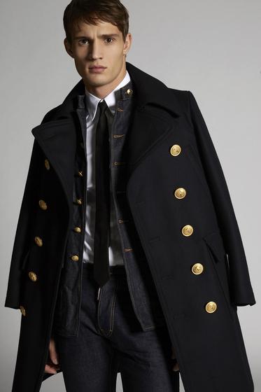 DSQUARED2 Coat Man m