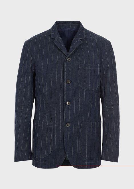 GIORGIO ARMANI Fashion Jacket Man d