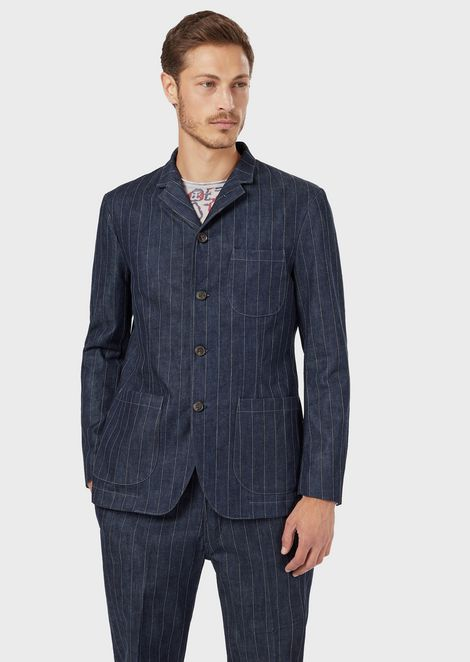 GIORGIO ARMANI Fashion Jacket Man f
