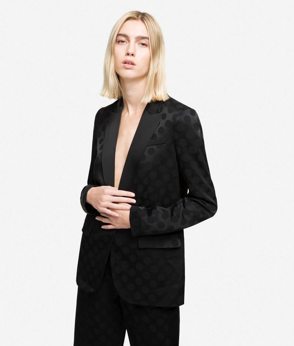 KARL LAGERFELD K/Dots Tailored Blazer Blazer Woman f