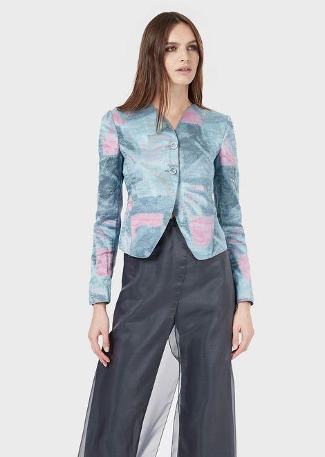 GIORGIO ARMANI Fashion Jacket Woman f