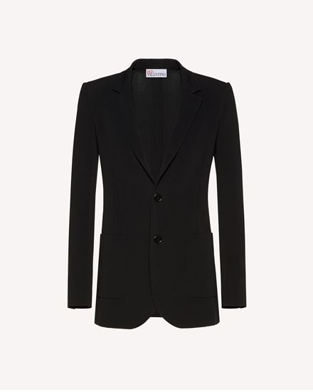 Blazer aus Stretch-Frisottine